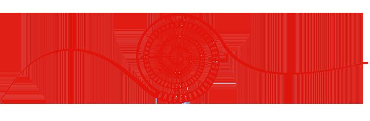 Rote Spirale - Symbol der Montessori Schule Peissenberg
