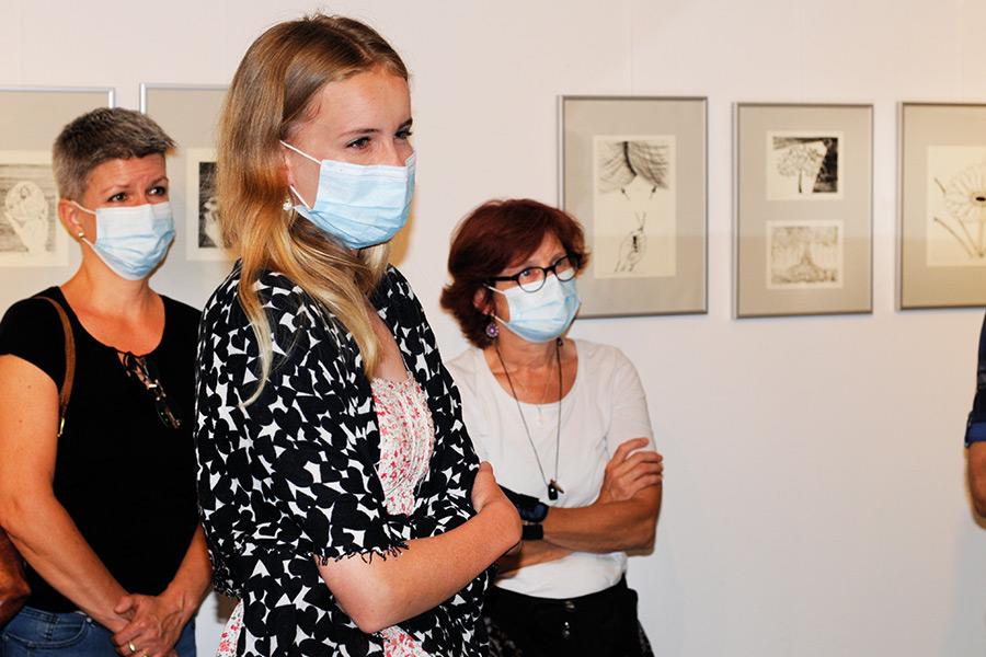 Ausstellung zum Projekt Druckwerkstatt