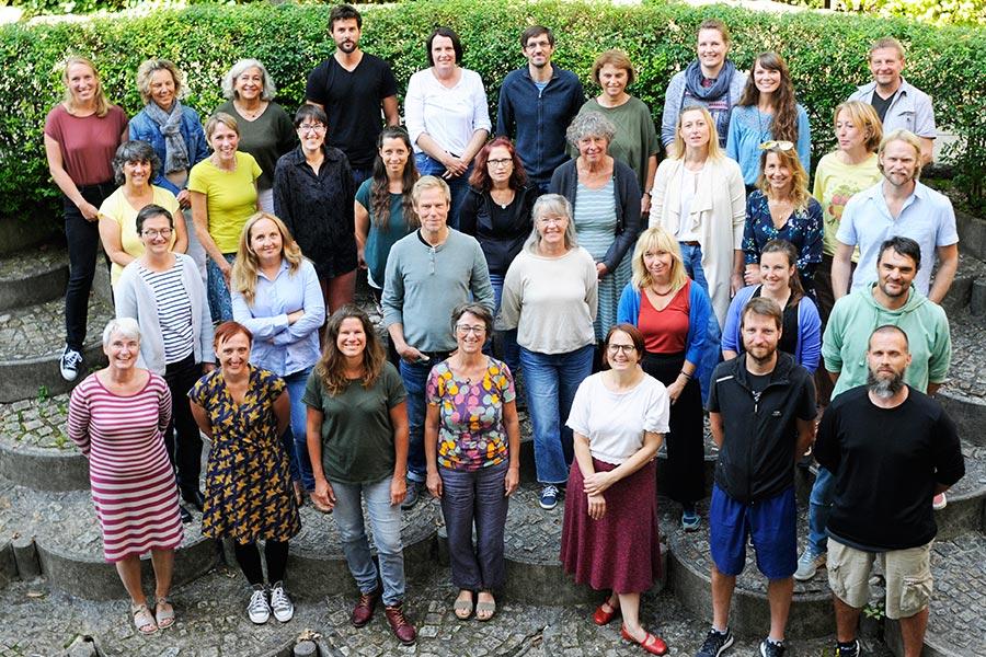 Leitung und Lehrerkollegium der Montessori Schule Peissenberg