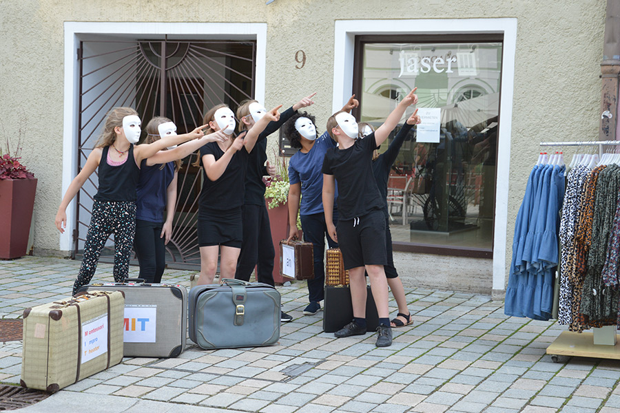 Unsere Theatergruppe in Action